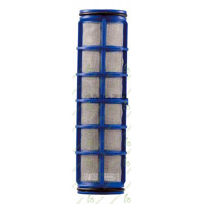 Фільтр сітчатий D58mm H=210mm 50maschen голубий