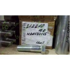 Гвинт 6-гранний M20x1,5x80 10.9 DIN931