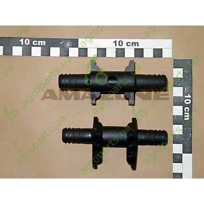 Зєднання трубопроводу прохідне PA+30 GF Schwarz