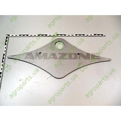 Пластина металева 10x220x510mm штанги серга