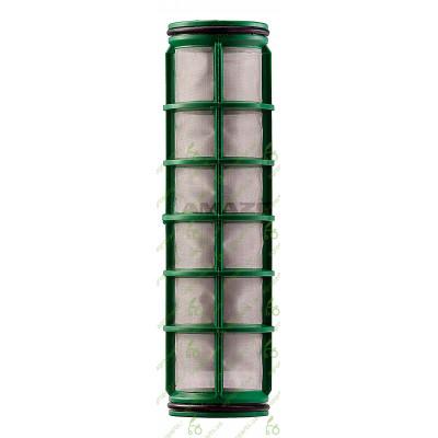 Фільтр сітчатий D58mm H=210mm 100maschen зелений
